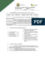 Tercer Examen Parcial Quimica 2