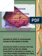 Re Lactation and Induced Lactation