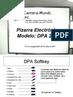 Manual Pizarra DPA 2000 Ppt v.2.1