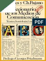 Fages, J.B. & Pagano, Ch. - Diccionario de Los Medios de Comunicacion