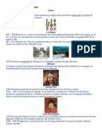 Cicilizaciones Antiguas de Asia