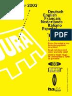 2003 Service Manual Magura HS33