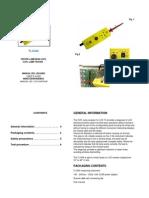 Manual Web TL1040