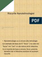 Riscurile Nanotehnologiei