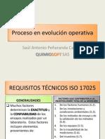 Proceso en evolución operativa