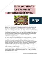 Magia de Cuentos, Mitos y Leyenda en Los Cuentos Africanos Para Ninos