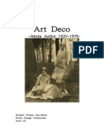Moda in 1920 - Art Deco- Eseu