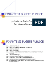 Finante Si Bugete Publice Scurt
