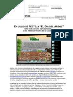 CONABIO, sitio Web Vecinos Verdes