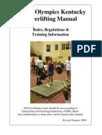 Powerlifting Manual