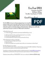 EcoFest 2014 Vendors