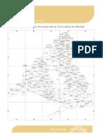 DIE Mapa y Listado de Municipios CM