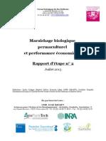 Etude Marai Chage Permaculturel - Rapport Interme Diaire 2013-1
