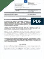 Proposición revisión antena telefonía Bº Aeropuert
