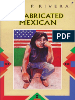 A Fabricated Mexican by Rick P. Rivera