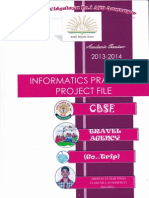 informatics practices project class xii