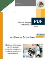 Unidad 2 de Aprendizaje AMBIENTES