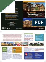 Affordable Housing in Glendale Brochure-Armenian