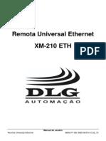 XM-210 ETH - Remota Universal Ethernet