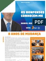 Jornal de Campanha | PSD Ronfe - 2009