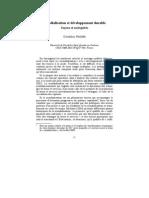 Mondialisation et développement durable