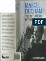 Marcel Duchamp - The Afternoon Interviews
