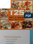 T25 Nutrition Guide
