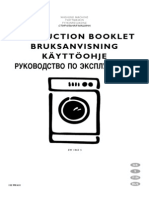 Electrolux EW 1063 S PDF Rus