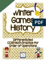 wintergameshistorydifferentiatedorderofoperationsforupperelementary