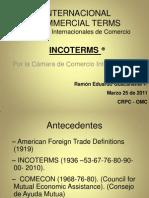 1 INCOTERMS OMC Profesor Guacaneme