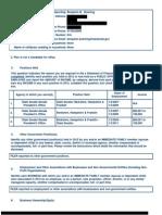 Downing, Benjamin 2012 SFI Redacted