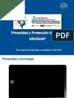 4.3 Jose Clastornik 2012-11-27 Privacidad Ministerial GE
