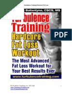 Ballantyne Craig Turbulence Training Hardcore Fat Loss Workout