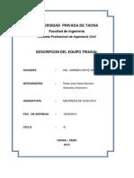 Universidad Privada de Tacna Suelos