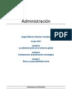 Administración, unidades 5, 6 y 7, grupo 9291