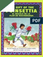 The Gift of the Poinsettia / El regalo de la flor de Nochebuena by Pat Mora and Charles Ramirez Berg