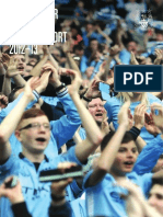 Manchester City CF, Annual Report 2012/2013