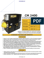 Cool Machines CM2400 Insulation Blowing Machine Datasheet
