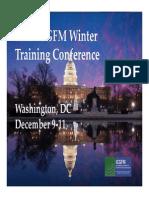 ICGFM Conference Opening Presentation December 2013