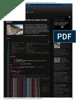 O Peregrino_ Remover Caracteres Especiais Em Campos Do SQL Server