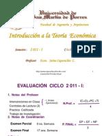 Teoría Econ. 2011-I parte 1