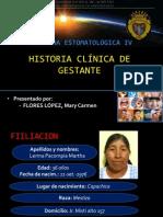 Historia Clinica Gestante