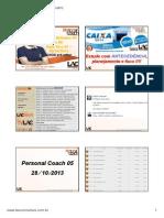Personal Coach Caixa Pre Edital 2013 Aulas 36 a 49