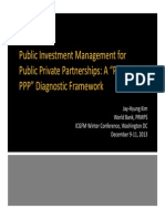 Public Investment Management for Public Private Partnerships PIM for PPP JKIM