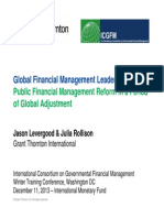 ICGFM Survey Presentation Winter 2013 Levergood Rollison