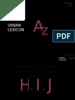 Urban Lexicon Pres