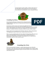 Groundhogs Day - Groundhogs Day facts and Trivia