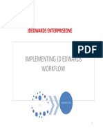 Implementing JDEdwards EnterpriseOne Workflow Tools 9.1