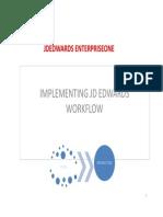 Implementing JDEdwards EnterpriseOne Workflow Tools 9.1