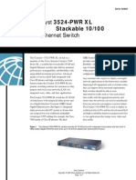 Cisco3524 PWR XL DataSheet